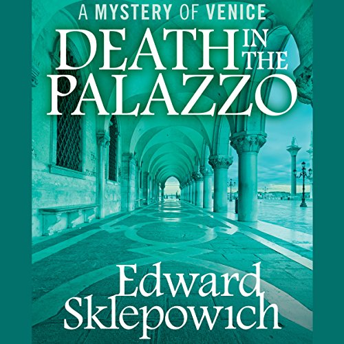 Death in the Palazzo audiobook cover art