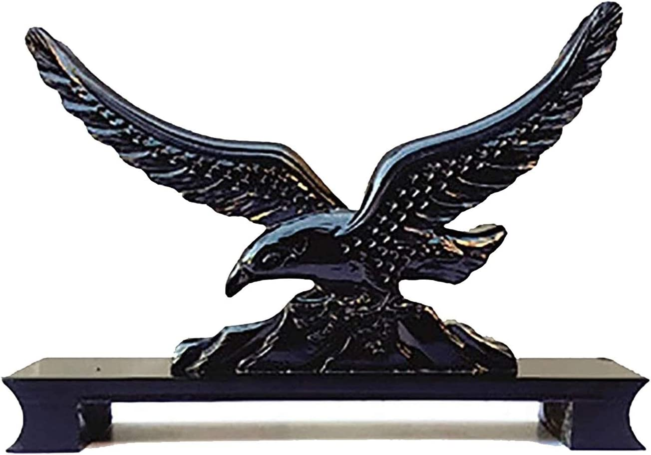 BZGKNUL Sword Stand Black supreme Solid M Cheap mail order specialty store Wood Display Eagle