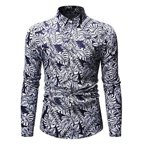 Camisas de los hombres Impresas Camisas de los Hombres Casua