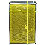 RAYAIR SUPPLY 20x20 MicroPower Guard Air Cleaner Replacement Filter Pads (6 Pack) Yellow 5 FREE Shipping Six (6 Changes) fiberglass media pads with activated carbon center per order. Replacement Media Designed To Fit MicroPower Guard 20x20 Air Cleaner.