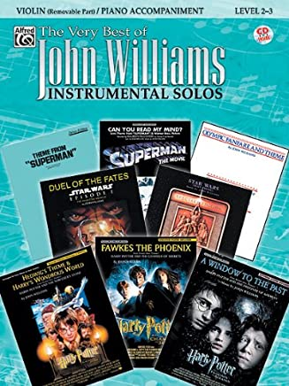 The Very Best of John Williams for Strings – Violin – Level 2 – 3 – BK + CD