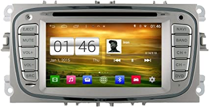 Witson 7 Android 4.4 Quad Core For Ford Mondeo(2007-2011)/Focus(2008-2010)/S-max(2008-2010) Galaxy (2011-2012) Car DVD Player GPS Radio Stereo Navigation Head unit Capacitive 1024600 Touch Screen