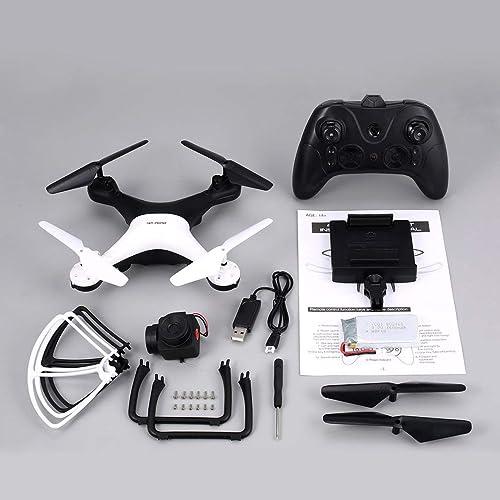 Noradtjcca X35SH 2.4G Selfie Drone Quadricoptère RC Drone avec 720p HD WiFi FPV caméra 20 Minutes de Long vol Altitude Hold Headless 3D Flip