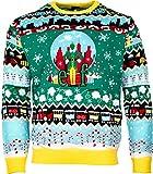 Unisex Elf Weihnachtspullover