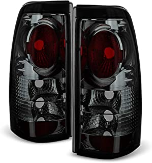ACANII - For 1999-2002 Chevy Silverado 1500 99-06 GMC Sierra Smoked Tail Lights Brake Lamps Driver & Passenger Side