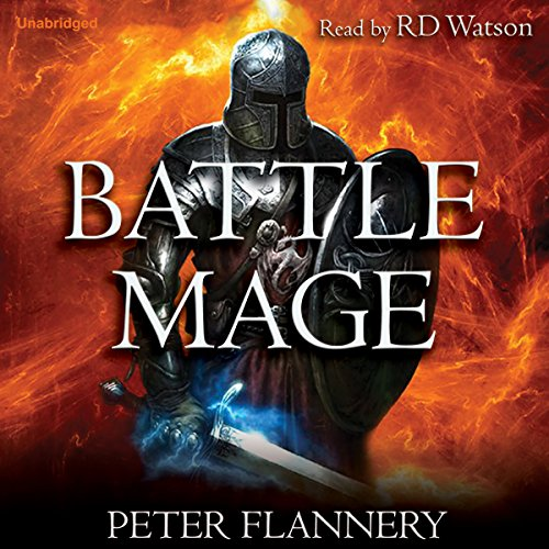 Battle Mage audiobook cover art