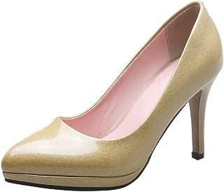 ELEEMEE Women Fashion Stiletto High Heel Pumps