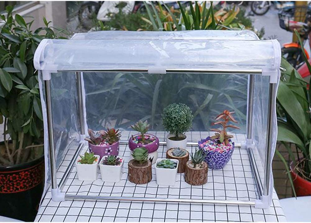 Greenhouses Gardening Cheap Balcony Transparent Plant Storage Flow PVC Outlet ☆ Free Shipping