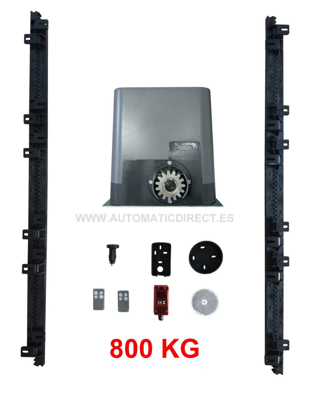 Kit Motor Corredera 800kg: Motor + Cuadro universal corredera + ...
