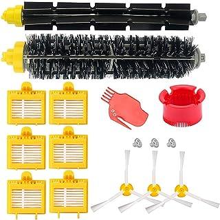 HoHome Kit Cepillos Repuestos para iRobot Roomba Serie 700, Accesorios para Roomba 700 720 750 760 770 772 772e 774 775 776 776p 780 782 782e 785 786 786p 790 - Roomba Kit Conjunto de 16