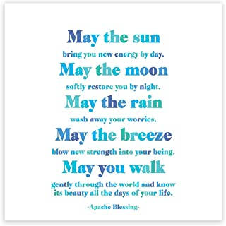 Quotable Magnet - May the sun bring you new energy by day.