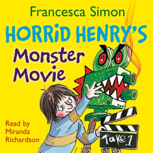 Horrid Henry's Monster Movie audiobook cover art