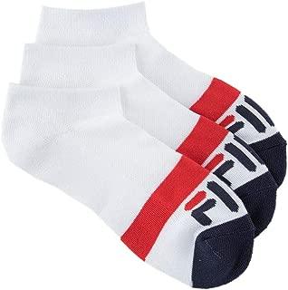Fila Women's 3-Pack Heritage Blocked Toe Low Cut Socks