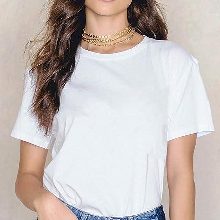 YDXC Camiseta para Mujer Camiseta Blanca para Mujer Camiseta ...