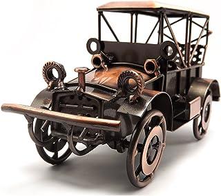 Escomdp métal Antique Vintage Car Modèle Décor Décoration de maison artisanale Handcrafted collections Collectible voiture...