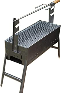 Alapaste Home Restaurant Rib Rack Stand Non Stick Outdoor Grilling BBQ Chicken Beef Lamb Stand Chop Roasting Stand Steak Holder Black