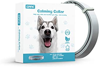 CPFK Calming Collar for Dogs Pheromones Relieve Reduce Anxiety or Stress Adjustable Collars with Long-Lasting 60 Days Stay...