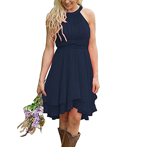 Navy Short Bridesmaid Dresses Amazoncom