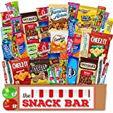The Snack Bar - Snack Care Package (40 count) - Variety Assortment with American Candy, Fruit...