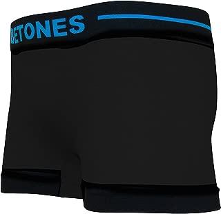 BETONES (ビトーンズ) メンズ ボクサーパンツ SKID BLACK dwearsステッカー入り ローライズ アンダーウェア 無地 ブランド 男性 下着 誕生日 プレゼント