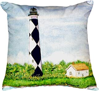 "Betsy Drake NC042 Cape Lookout No Cord Pillow, 18"" x18"""