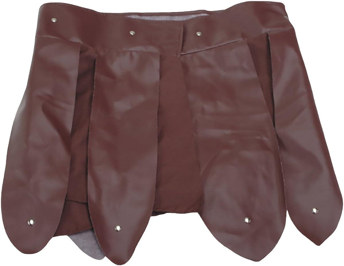 Brown Roman Gladiator unisex Skirt Special price Belt Vinyl Arm Apron Trojan Pteruges