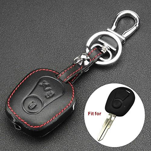 Gazechimp Couverture cl/é /à distance protecteur cas bouton FOB 2 /à SsangYong Actyon Kyron Rexton