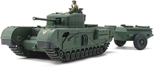 Tamiya America, Inc 1 48 British Tank Churchill Mk.VII Crocodile, TAM32594