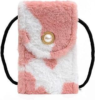 Fashion Cow Print Cell Phone Purse Crossbody Wallet