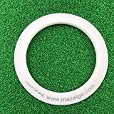 MAZEL Golf Putting Cup Ring for Training Aid Indoor & Outdoor All-Direction Golf Practice Hole Golf Putting Accuracy Trainer