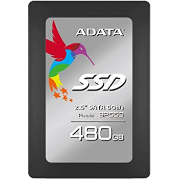 ADATA Premier SP550 480 GB 2.5 Inch SATA III Superior Read & Write up to 560MB/s & 510MB/s Solid State Drive (ASP550SS3-480GM-C)