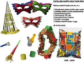 CAPRILO Lote de 10 Bolsas de Cotillones Decorativas Happy ...