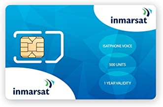 Inmarsat IsatPhone Prepaid SIM Card with 500 Units (333 Minutes)