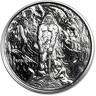1 oz Silver Proof Round - Frank Frazetta (The Barbarian)