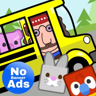 Preschool Bus Driver: NO ADS Learning Game - Preschool Games for Ages 2-4, Toddler Learning App