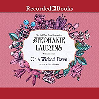 On a Wicked Dawn audiobook cover art