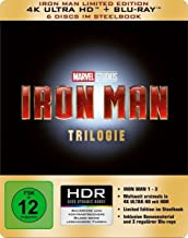 Iron Man Trilogie 4K, 6 UHD-Blu-ray (Limited Edition im Steelbook)