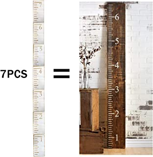 7 Feet Ruler Stencil Growth Chart Stencil Template for Painting on Wood and Wall,Measuring Kids Height Home Decor