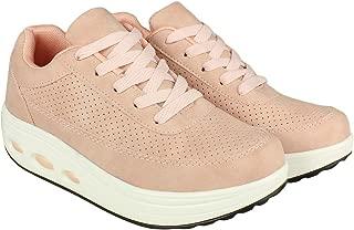 Flat n Heels Womens Pink Sneaker FnH 998-11-PK