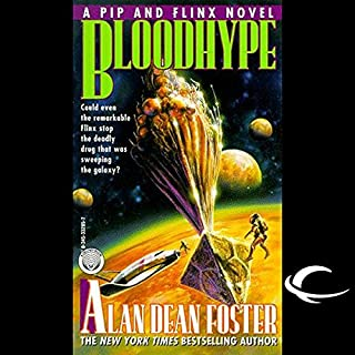 Bloodhype audiobook cover art