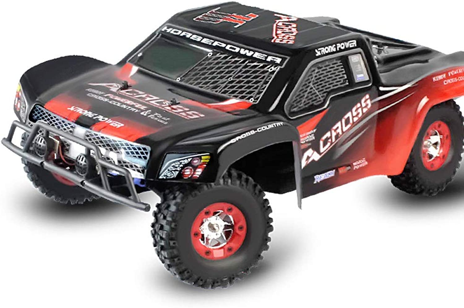 Pinjeer 50KM H High Speed Oversized 1 12 Four-wheel Drive Remote Control Charging Toy Racing Car Adult High Speed Drift Climbing Off-road Vehicle Gifts for Kids 12+ (Size   1-Battery)