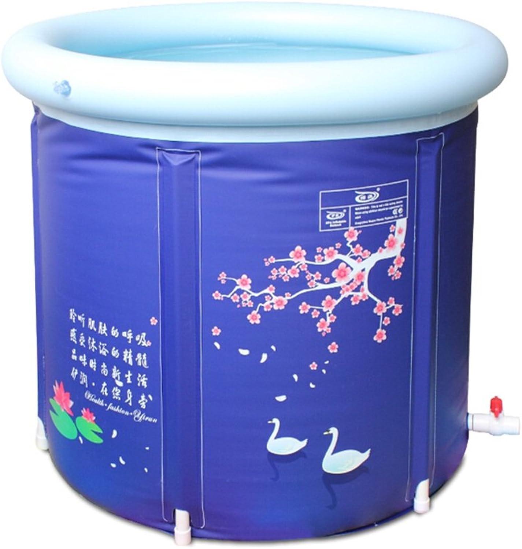 CQYGZHL Inflatable bathtub, Thickening Increase Collapsible Bathtub Free inflatable Bath barrel Bathing Tub