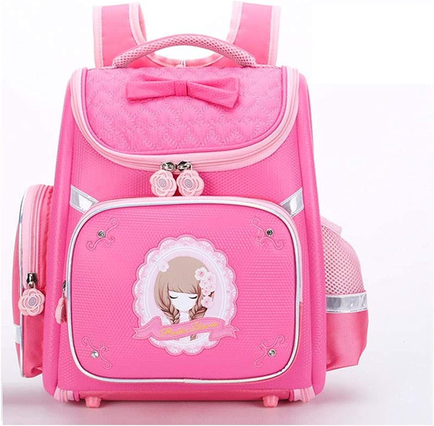 HENGTONGTONGXUN Grundschule Bag 1-3 Grade, Mdchen Cute Ridge Dekompression Space Backpack, Cartoon Bag Hohe Qualitt