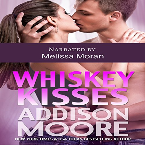 Whiskey Kisses audiobook cover art