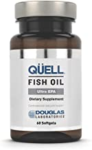Douglas Laboratories - Quell Fish Oil Ultra EPA - 5:1 Ratio of EPA & DHA Essential Omega 3 Fatty Acids for Cardiovascular and Joint Health* - 60 Softgels
