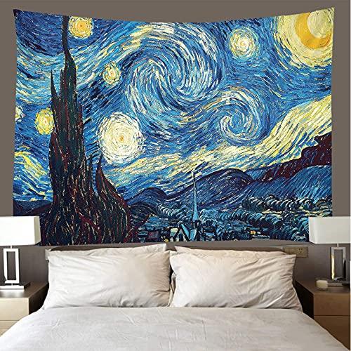 binghongcha Tapiz 3D Van Gogh A2362 Mandalatapestries Esterilla De Yoga Manta De Toalla De Playa, Sábana De Playa De Picnic, Mantel, Boho, Colgante De Pared Decorativo 150X200Cm