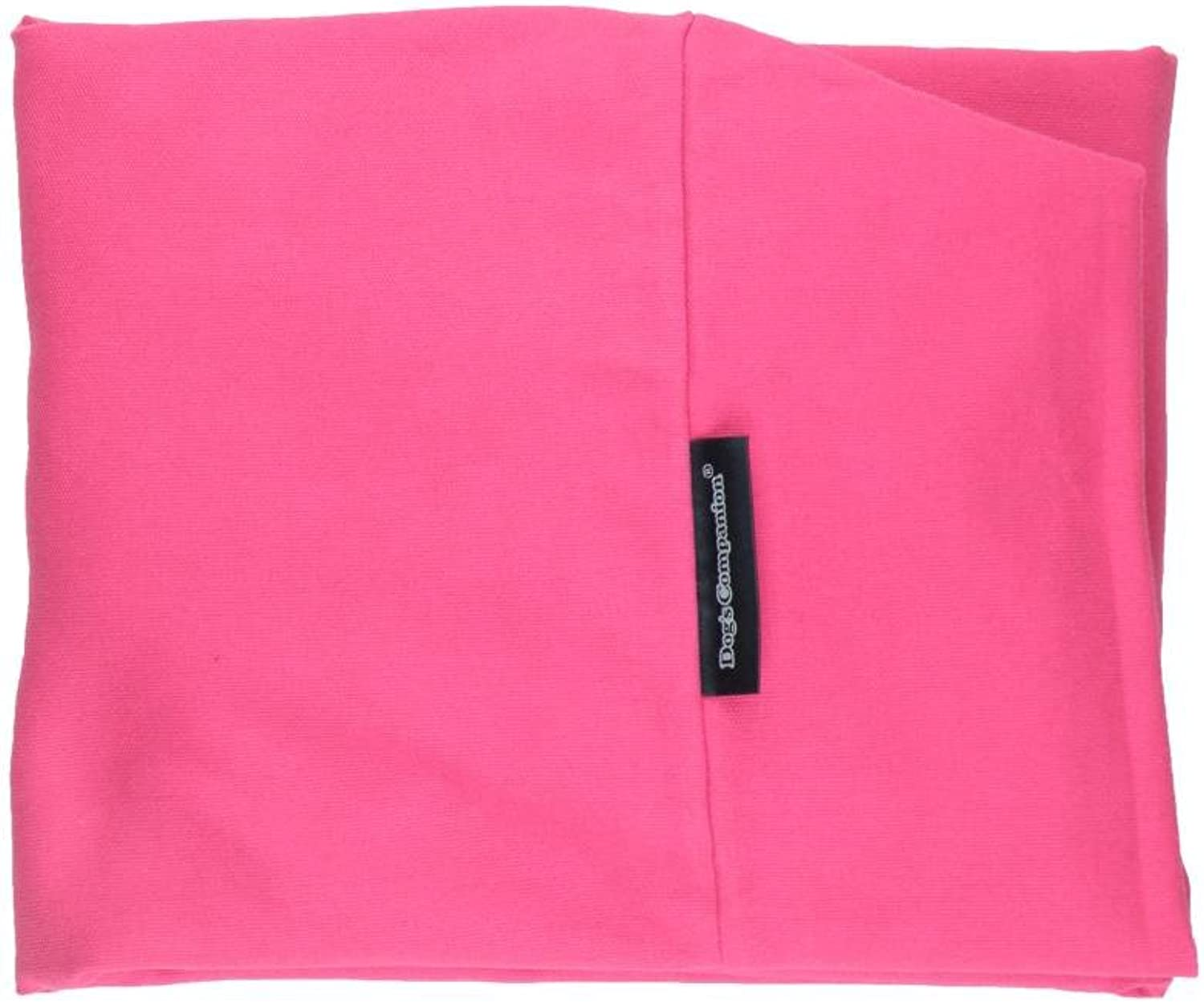 Dog's Companion Canvas Cover Dog Bed Large Pink