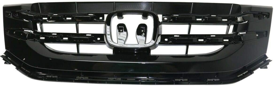 Premium Plus Grille store Grill Compatible 2014-201 Odyssey Honda Baltimore Mall with