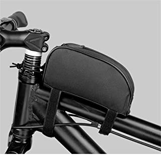 Roswheel Bicycle Cycling Frame Front Top Tube Bag Outdoor Mountain Bike Pouch Color Black