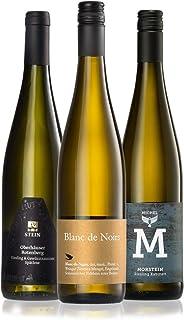 GEILE WEINE Weinpaket FEINHERB 3 x 0,75l Probierpaket halbtrockene Weißweine aus Deutschland